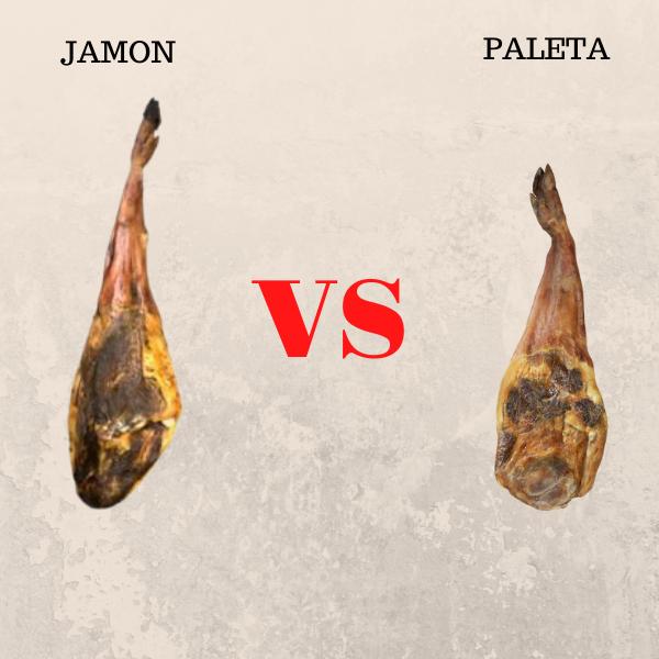 Diferencias entre Jamón y Paleta